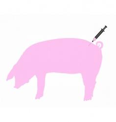 Swine inoculation vector