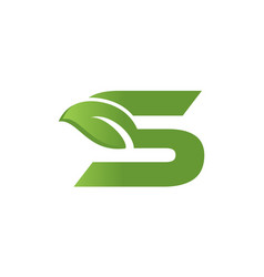 18 letter s1 vector image