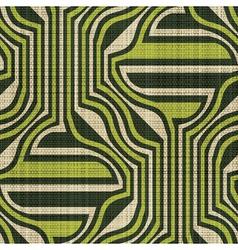 ornate textile print vector image