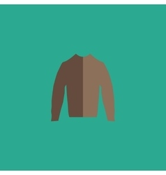 Clothing sweater Pictogram vector image
