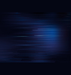 blue square pattern on dark background vector image