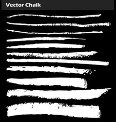 chalk lines vector image