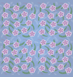 Floral pattern 002 vector