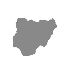 Map nigeria vector