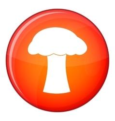 Mushroom icon flat style vector