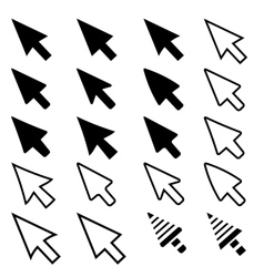 Pointer Icons vector