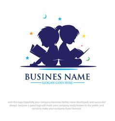 Read logo designs vector
