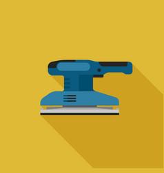sander flat icon vector image