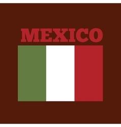 Mexico country flag vector