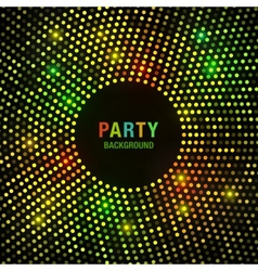 Abstract Circular Colorful Bright Glow Background vector image