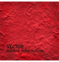 Red textured paper background vector image vector image