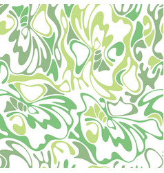 Color seamless swirl olive grass background green vector
