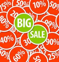 discount sale background vector image