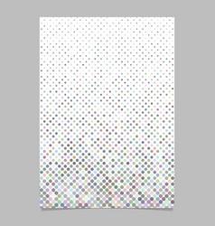 Geometrical dot pattern background brochure vector