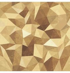 Golden Mosaic Background vector