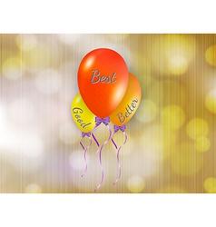 Good better and best balloons vector