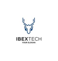 ibex tech vector image