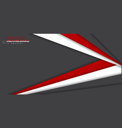 Indonesia independence day with red white vector