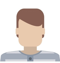 Jail inmate icon vector