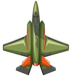 Modern design of jet plane vector image