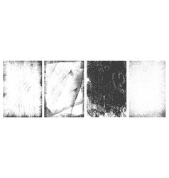 Retro grunge vertical frames set vector