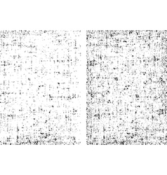 Two dirt grunge texture ready to overlay any vector image vector image