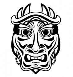 ancient mask vector image