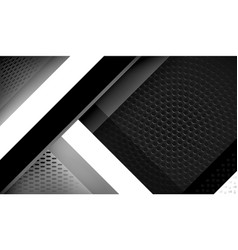 bw tech background vector image