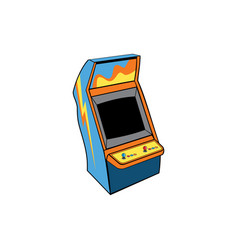 classic game arcade console vector image