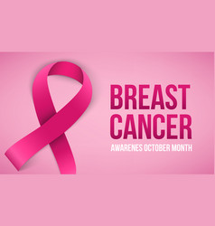 Creative of breast cancer vector
