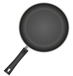 Frying pan 01 vector