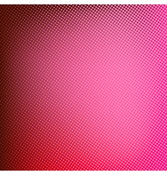 Halftone red background vector