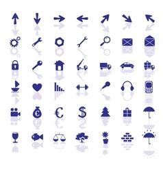 Icon set 2 vector