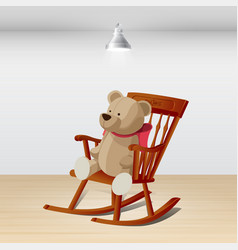 Rocking chair 03 vector