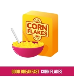 Breakfast icon gradient vector image