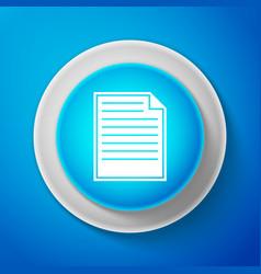 white document icon checklist icon vector image