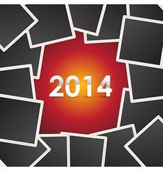 2014 photos vector image