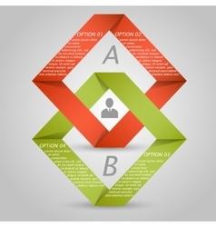 3d infographic elements vector