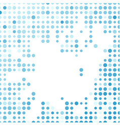 abstract modern background blue circle pattern vector image