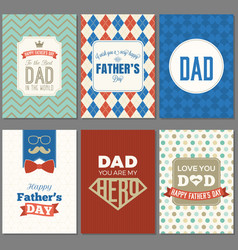 card template for father day vector image