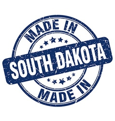 made in South Dakota vector image