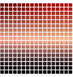 Red orange purple rounded mosaic background over vector