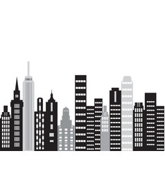 the city building vector image