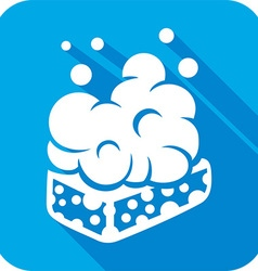 Wet Soap Icon vector