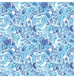 Blue Creative Pattern vector image vector image