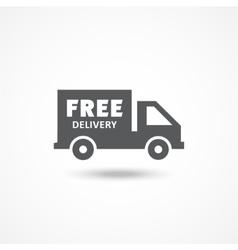 Free delivery icon vector image vector image