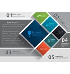 layout template design brochure flyer magazine cov vector image