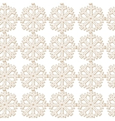 abstract background Christmas snowflakes vector image vector image