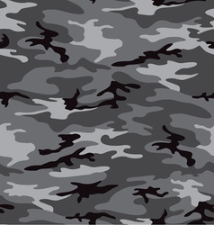 camouflage grey seamless pattern vector image vector image
