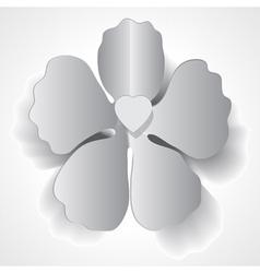paper flower vector image vector image